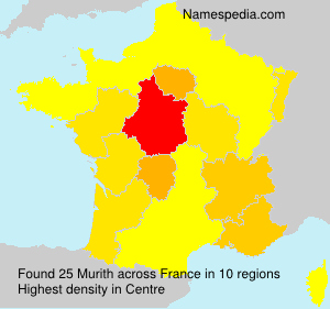Surname Murith in France