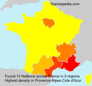 Surname Nalbone in France