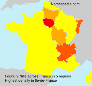 Surname Nille in France
