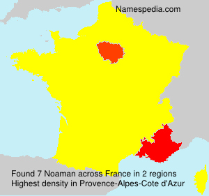 Surname Noaman in France