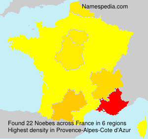Surname Noebes in France