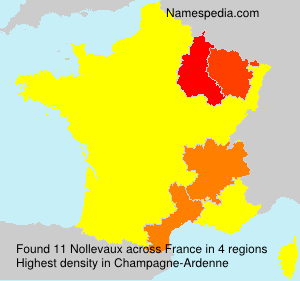 Surname Nollevaux in France