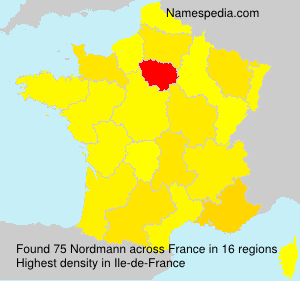 Surname Nordmann in France