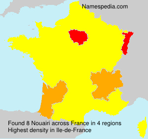 Surname Nouairi in France
