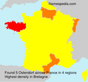 Surname Ostendorf in France