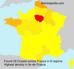 Surname Ousaid in France