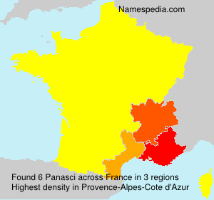 Surname Panasci in France