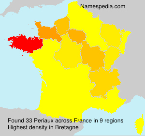 Surname Periaux in France