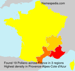 Surname Pollano in France