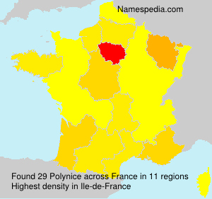Surname Polynice in France