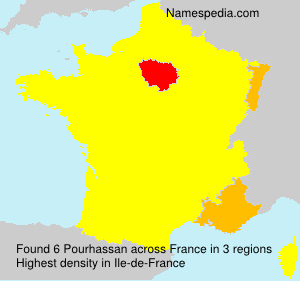 Surname Pourhassan in France