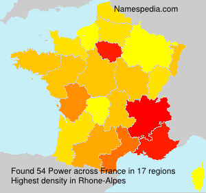 Surname Power in France