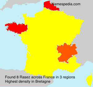 Surname Rasez in France