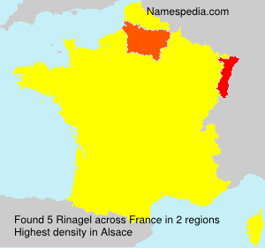 Surname Rinagel in France