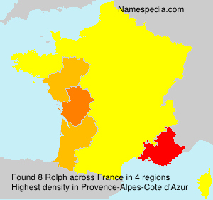Surname Rolph in France