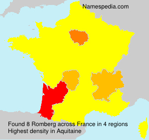 Surname Romberg in France