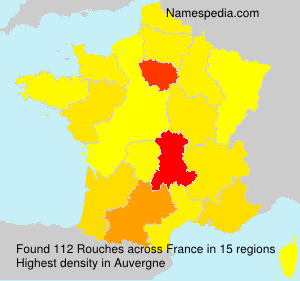 Surname Rouches in France