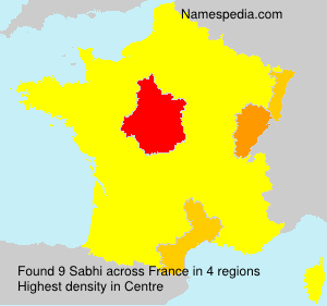 Surname Sabhi in France