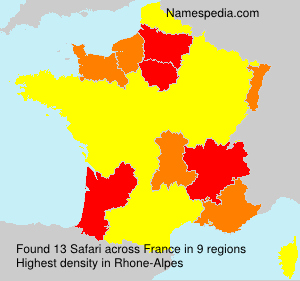 Surname Safari in France