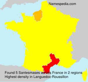 Surname Santesmases in France