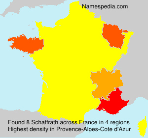 Surname Schaffrath in France