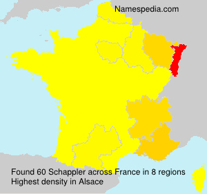 Surname Schappler in France