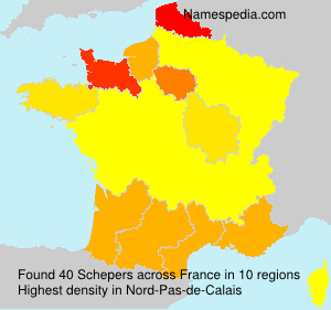 Surname Schepers in France