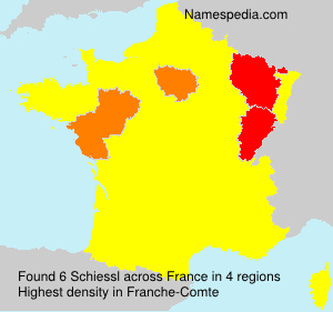 Surname Schiessl in France