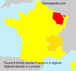 Surname Schilly in France