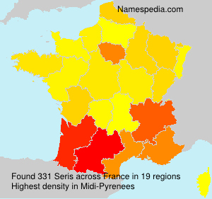Surname Seris in France