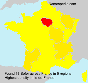 Surname Sofer in France