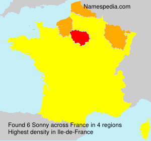 Surname Sonny in France