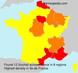 Surname Souhail in France