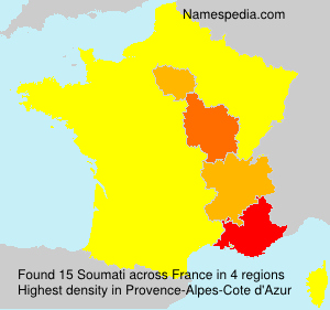 Surname Soumati in France
