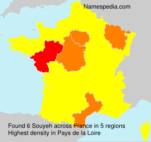 Surname Souyeh in France