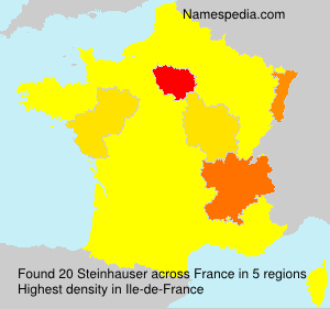 Surname Steinhauser in France