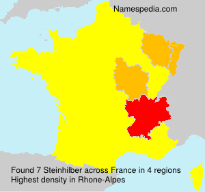 Surname Steinhilber in France