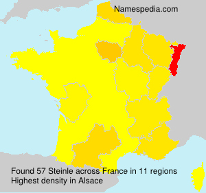 Surname Steinle in France