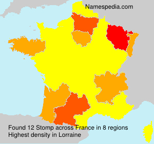 Surname Stomp in France