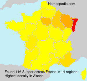 Surname Supper in France