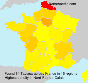 Surname Taviaux in France