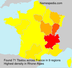 Surname Tbatou in France