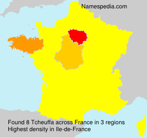 Surname Tcheuffa in France
