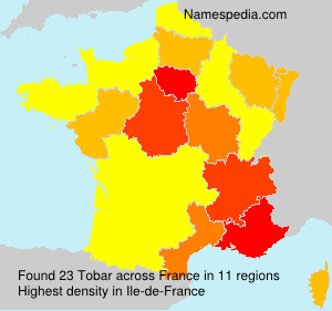 Surname Tobar in France