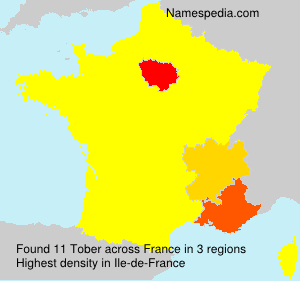 Surname Tober in France