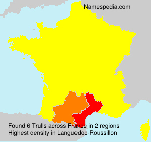 Surname Trulls in France