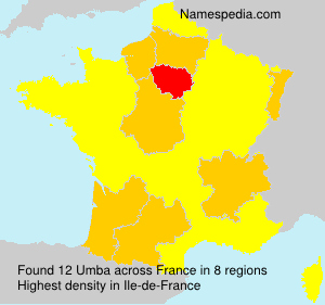 Surname Umba in France