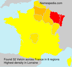 Surname Velcin in France