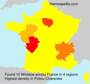 Surname Winslow in France
