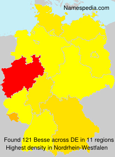 Surname Besse in Germany